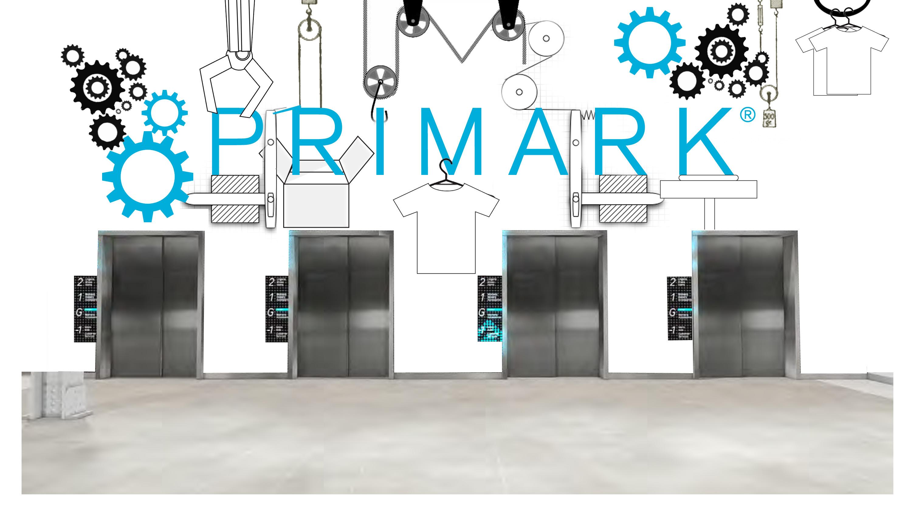 Conceptual_Primark Lift wall